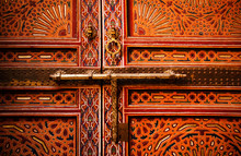Old Wooden Door Handle, Fes, Morocco