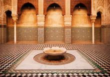 Interiors Of A Medersa, Meders...