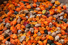 Dried Flowers At A Market, Mor...