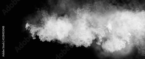 Fototapeta 黒背景に煙のグラフィック素材 obraz