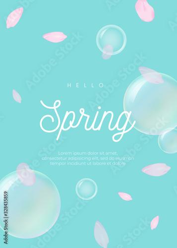 봄꽃 배경 Wallpaper Mural