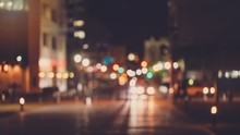 Abstract Blur Urban City Stree...