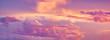 Leinwandbild Motiv sunset clouds