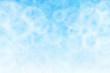 Leinwandbild Motiv 空 雲 夏 ブルー 水彩 背景