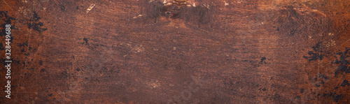 Fototapeta Horizontal texture of wooden background. Long banner format obraz