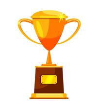 Golden Graduate Trophy Cup Awa...