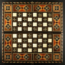 Chessboard Inlaid With Valuable Woods