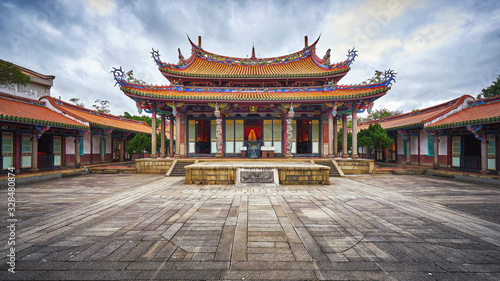 Taipei Confucius Temple in Taiwan Wallpaper Mural