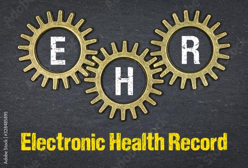 Obraz na plátne EHR Electronic Health Record