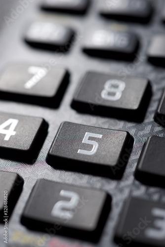 Calculator close up - 328486820