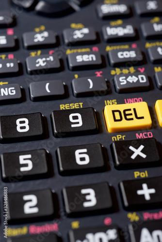 Calculator close up - 328486883
