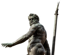 Bronze Statue Of Neptune Isola...