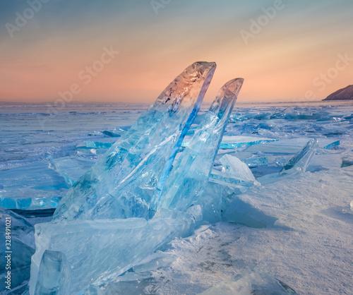 Photo Ice of baikal
