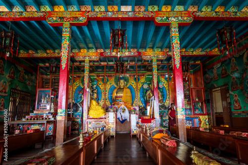 Obraz Nagi Gompa, Nepal - fototapety do salonu