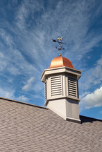A Cupola With Copper Roof And ...