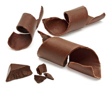 Chocolate Curls, Parts, Pieces...