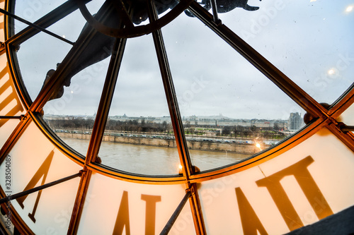 Canvastavla Editorial picture of Orsay Romantic Museum in Paris taken in date 25 december 20