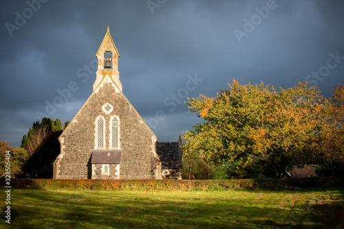 Obraz old church - fototapety do salonu