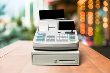 Cash Register With LCD Display...