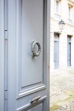 Bronze Door Knocker Of A Old F...