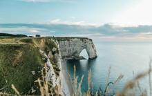 Cliffs Of Etretat Normandy France