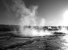 Geyser Erupts, Golden Circle, Iceland
