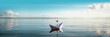 Papierschiff XXL Panorama