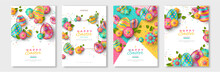 Easter Posters Or Flyers Desig...