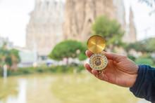Sagrada Familia Barcelona With...