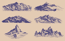 Mountains Peaks And Climbing H...