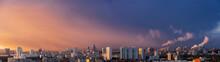 Dawn Clouds Over The Metropoli...