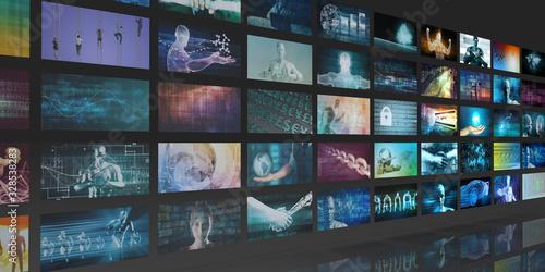 Fototapeta Multimedia Entertainment obraz
