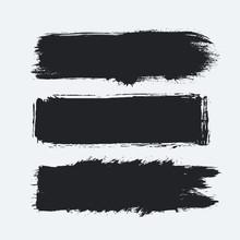 Detailed Grunge Banners Set. I...