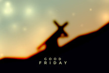 Jesus Christ Carrying Cross Good Friday Background