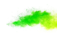 Green And Yellow Powder Explos...