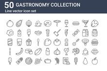 Set Of 50 Gastronomy Collectio...
