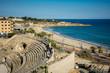 Roman amphitheater in Tarragona, Catalonia, Spain.