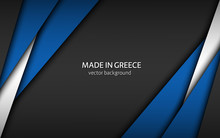 Made In Greece, Modern Vector ...