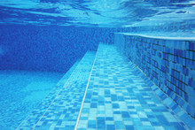 Underwater Shot Of Stairs And ...