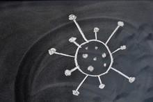 Dibujo Del Virus Del Coronavir...
