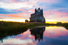 Work By DCA- Stunning Sunset At Whitby Abbey -2019