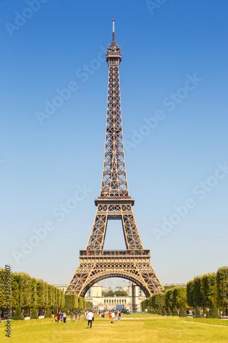 Paris Eiffel tower France travel traveling portrait format landmark