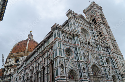 Beautiful Cathedral of Santa Maria del in Florence Italy