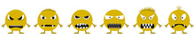 Angry Smiley Face Icons