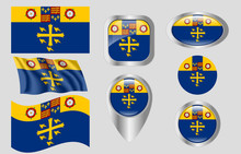 Flag Of Westminster Abbey, Eng...