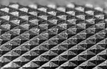 Extreme Close Up Shot Of Tiny Knob Knurl Created With Focus Stacking