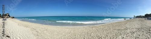Fototapeta Magnifique plage de Cuba, à Varadero obraz