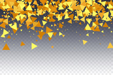 Vector Confetti Background.