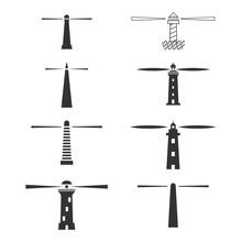 Modern Creative Lighthouses Set