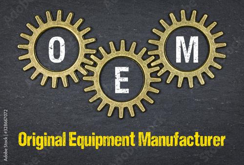 Fototapeta OEM Original Equipment Manufacturer